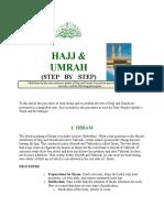 Hajj & Umrah Step by Step