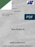 Texto Paralelo II