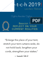 Leadership Retreat Exercises by Ogbo Awoke Ogbo