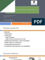 Protesis Auditiva Componentes y Clasificacion 2019