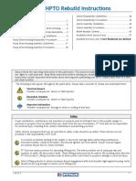 Wet HPTO Rebuild Instructions