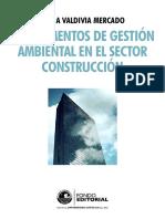 Instrumentos de gestión ambiental para el sector construcción