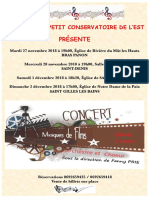 Affiche Concerts Musiques de Films