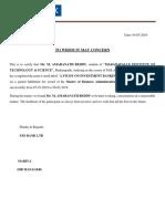 Amar Letter