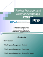 Project Management Body of Knowledge -Petar Jovanovic.ppt