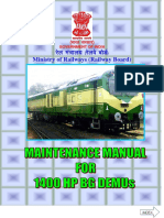 Maintenance Manual 1400 HP DEMUs (1)