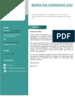 Carta de Presentación SUNARP