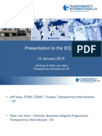 20150113 IESBA-Transparency International