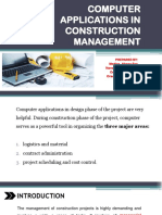 Computer Applications in Construction