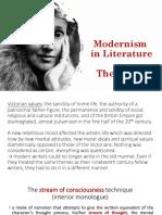 Modernism in Literature (2)