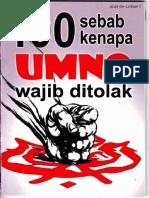 001_100 Sebab Kenapa Umno Wajib Ditolak