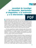 Texto 001 [Producto Extraclase - La necesidad de investigar en educación].pdf