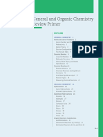 General and Organic Chemistry Primer