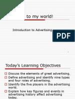 Intro 2 Advertisement