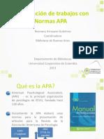 NORMAS APA SEXTA EDICION