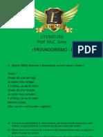 Plataforma Live Trovadorismo
