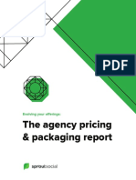 Agency Pricing and Packaging of Social Media Services
