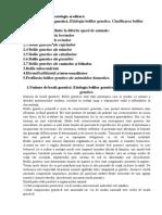 Tema Ereditatea Patologica