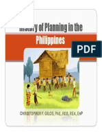 2History of Planning in the Philippines