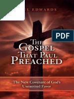 The Gospel That Paul Preached - Edwards, Paul