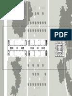 Planimetria parco scientifico - torre residenziale