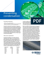 Preventing Condensation