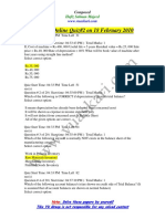 Financial Accounting - MGT101 Spring 2010 Quiz 2