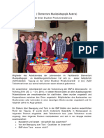 Bericht EMP-A Tagung