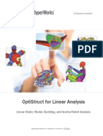 OptiStruct Linear Analysis 13.0 Manual