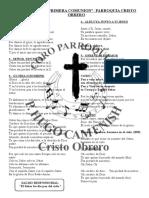 Cancionero Primera Cmunion