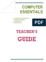 Teacher's Guide for Grade 3 ICT