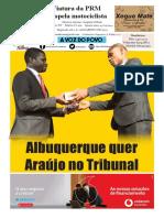 Diário Da Zambézia Ed. 03-04-2019