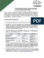 Regulamento Processo Seletivo Simplificado 2019