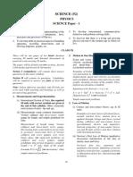 13. ICSE Physics syllabus