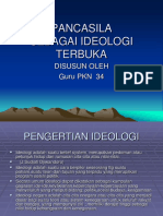 Pancasila Idiologi Terbuka - 2007