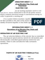 1 Electric Fan