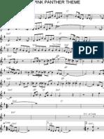 Pink-Panther Kybd- (Partitura - Sheet Music - Noten - Partition - Spartiti)
