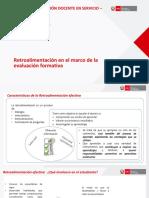 Ppt t2 m3 Retroalimentación