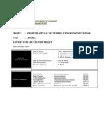 Angola - Projet d'Appui Au Secteur de l'Environnement PASE - Rapport d'Évaluation