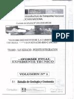 Estudio Geologia Y geotecnia