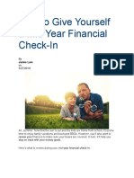 Mid-Year Financial Check-In
