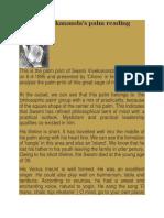 The Palms of Swami Vivekananda.docx