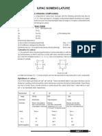 Lecture Note IUPAC Nomenclature