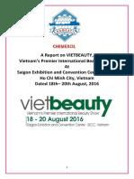 Vietbeauty 2016 Report