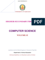 11th Std Computer Science Volume II EM