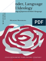 Gender, Language and Ideology - A Genealogy of Japanese Womens Language (Nakamura) Libro