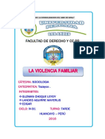 Trabajo de Violencia Familiar