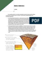 procesos geologicos internos