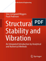 Wiggers S.L., Pedersen P. Structural Stability and Vibration. an Integrated Introduction by Analytical and Numerical Methods.2018. 160p