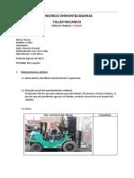 Informe Tecnico 8.Montacarga Nissan